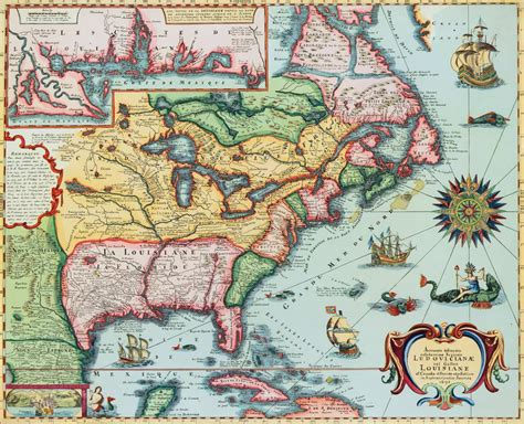 17 best images about america america on i 17th century map of america posters prints by corbis