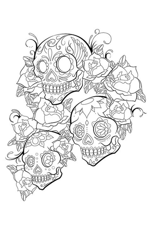 Tattoo Flash Art I Designed By Tanner Mcanulty At Coroflot Princess Skull Tattoos Free Coloring Sheets