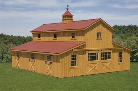 Barn Styles by Monitor Barns Custom Barns Design Your Own Barn