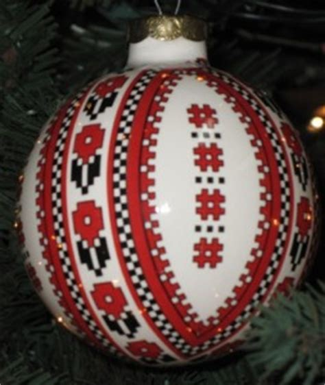 ukrainian christmas tree ornaments
