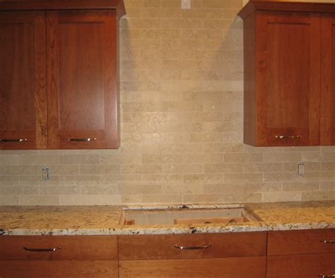 second thoughts about crema honed marble subway 3x6 backsplash