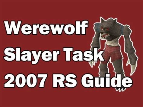 Tutorial Task Werewolf | full download runescape 2007 how to kill wolves as a