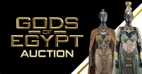 along with the gods regal gods of egypt auction women of the nile prop store