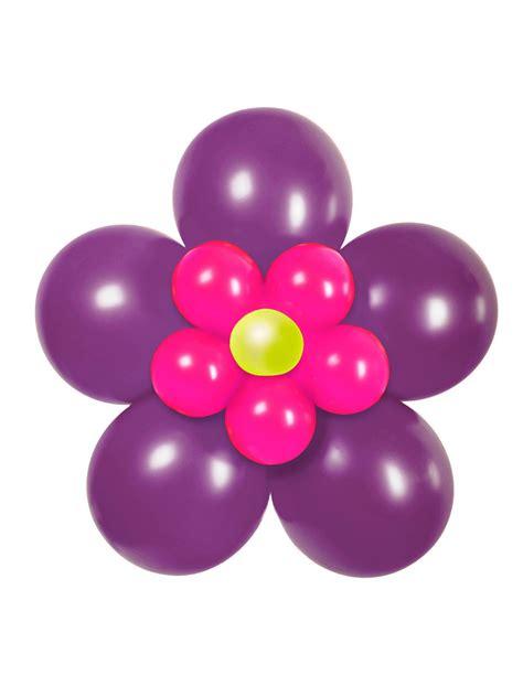 luftballon blume party deko set zum basteln 17 teilig