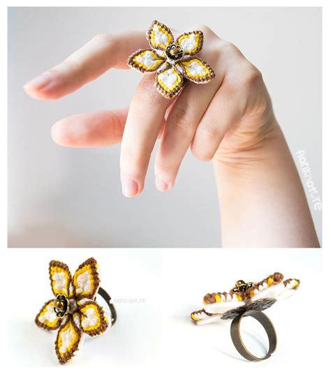 Macrame Flower Knot - steunk flower macrame knots by floriknoture on deviantart