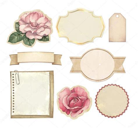 establecer etiquetas vintage con los corazones vector de conjunto de etiquetas vintage placa documentos y otros