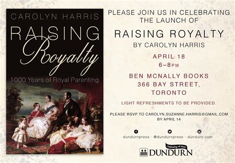 raising royalty books carolyn harris s