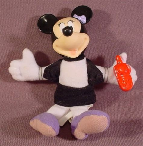 minnie mouse dolls house disney s house of mouse plush minnie mouse doll figure 5 inches tall show production