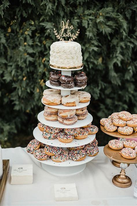 Donut Wedding Cake by The 25 Best Doughnut Wedding Cake Ideas On