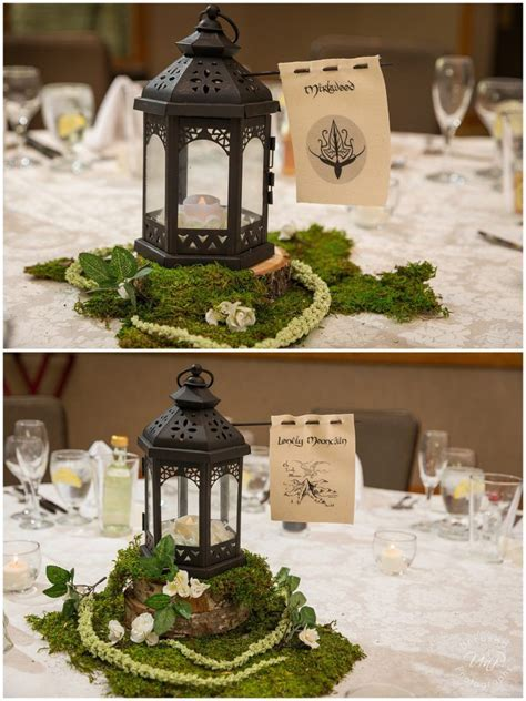 Star Wars and Lord of the Rings Wedding, Lord of the Rings