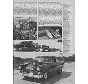 Gary Kollofski S 55 Chevy Car Craft 1977