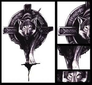 Wolf viking tattoo viking wolf tattoo wolf tattoo designs tumblr evil