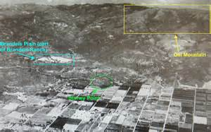 Iverson movie ranch bird s eye view of chatsworth calif in the