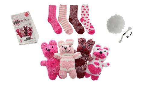 sock teddy craft sock teddy diy craft kits groupon goods