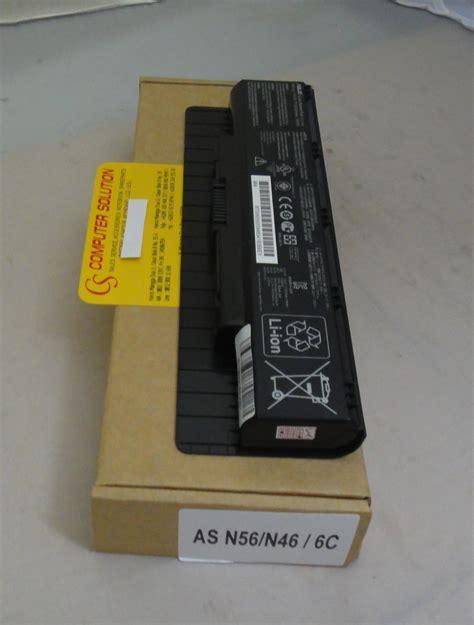 Baterai Laptop Asus N46v jual jual baterai original asus n46 n46v n46vj n56 n76 a31 n56 a32 n56 part laptop