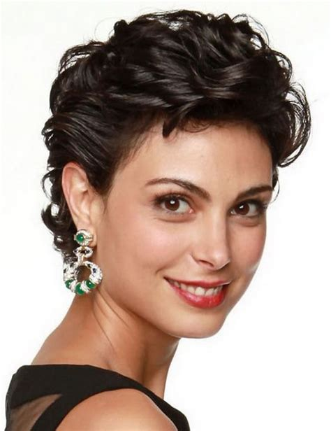 female actresses severe short hair morena baccarin beautiful celebrity actress female face
