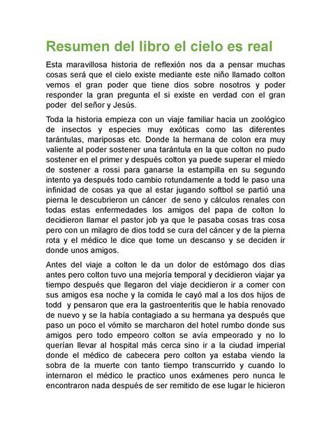 descargar pdf la maravillosa historia del espanol libro de texto calam 233 o resumen del libro el cielo es real