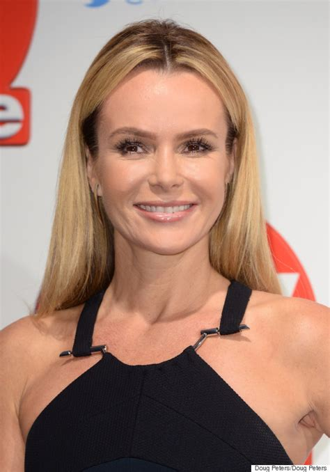 amanda holden amanda holden upset the and got a stare