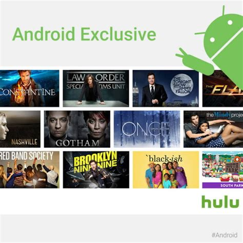 free tv shows for android hulu offers free tv shows for android users for the holidays