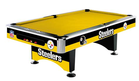 pittsburgh steelers nfl billiard table
