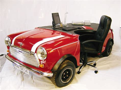 Office Desk Design Converted Car Myeoffice Workplace Car Office Desk