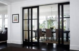 Dining Room Doors 40 Stunning Sliding Glass Door Designs For The Dynamic