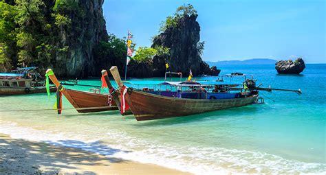 bangkok to krabi by boat koh hong island tour by long tail boat from krabi