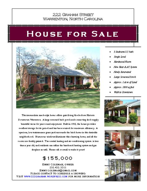 templates for house for sale by owner flyers house sale flyer zoro blaszczak co
