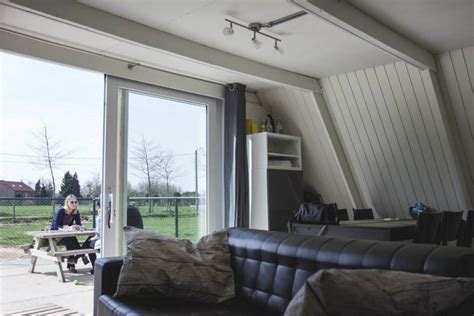 tipi house the tipi a cost efficient a frame house in belgium