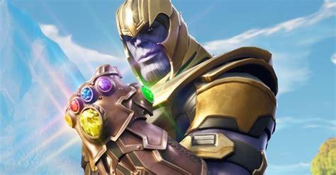 fortnite thanos event     infinity gauntlet   avengers event eurogamernet