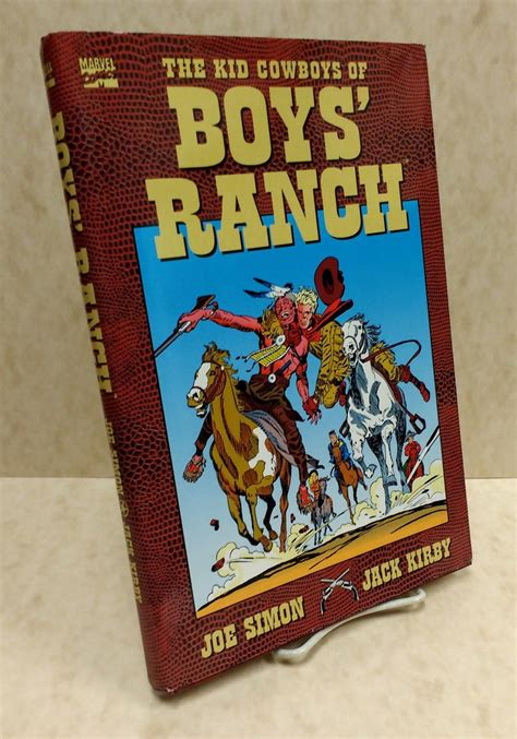 the bad boy cowboy ranch books kid cowboys of boys ranch by joe simon kirby marvel