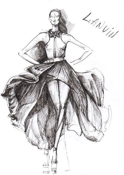 design fashion drawing fashion design sketches of dresses foto 2014 2015