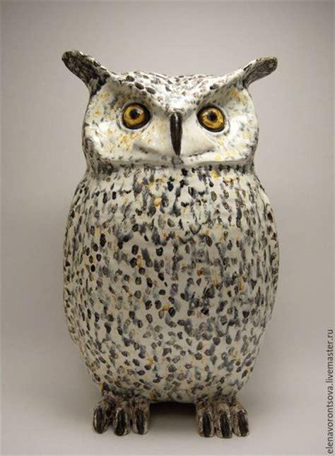 Handmade Owls - ceramic owl