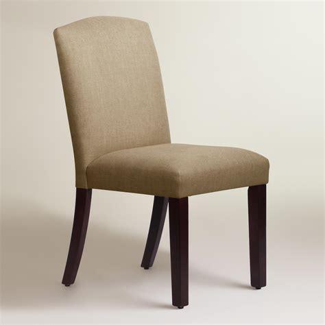 Linen Dining Chair Linen Rena Dining Chair World Market