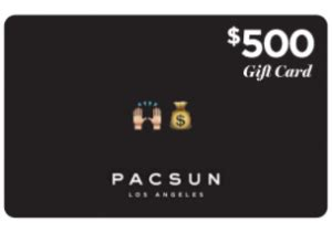 pacsun printable gift cards possible free pacsun gift cards quikly