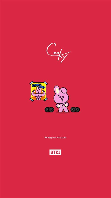 bts universtar bt21 bts bt21 wallpaper cooky pls make sure to follow me
