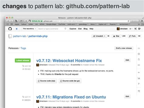 Pattern Lab Github | the why and what of pattern lab