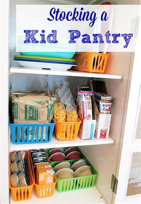 Easy Pantry by A Kid Pantry The Shirley Journey