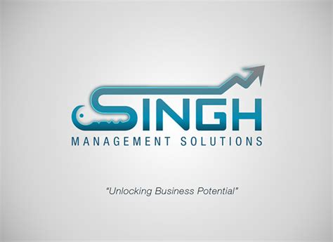 design management solutions singh management solutions logo design on behance