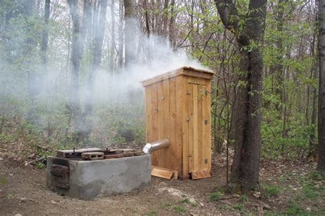home built smoker plans an outhouse smoker the ultimate smokehouse pinterest