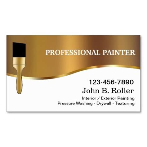 Painters Business Cards Templates by 198 Best Images About Painter Business Cards On