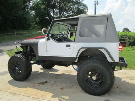 Jeep Yj 7 Find Used 1991 Jeep Wrangler Yj 350 V 8 Rock Crawler
