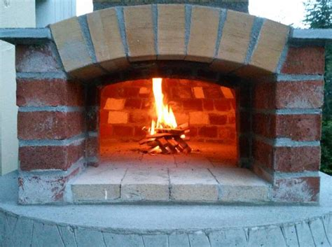 build a wood fired pizza oven in your backyard build small wood fired pizza oven 75cm 30 quot handycrowd com