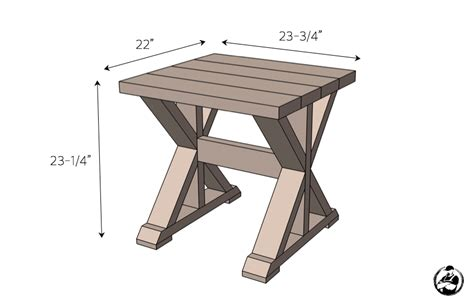 20 diy side table plans rogue engineer