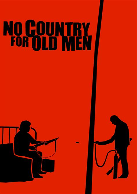 no country for old men minimalist poster by chris3290 on minimalist saul bass influenced movie posters on behance