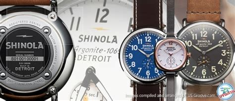 Handmade Watches Detroit - us groove products made in usa