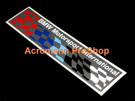 Bmw Motorrad Motorsport Decals by Bmw Decal Part