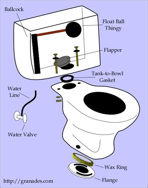 diagram of a toilet how to disassemble a toilet in many easy steps live granades