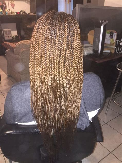 Mid Back Braids | box braids with 30 mid back length small small medium
