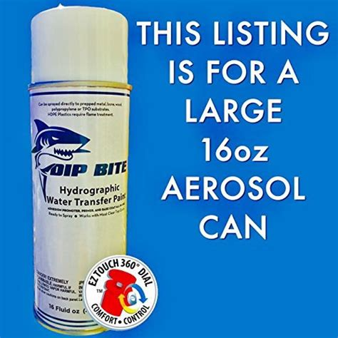 spray paint water transfer dip bite grey 16 oz aerosol spray can hydrographic water